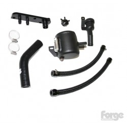 Forge Oil Catch Tank System for 2.0 Litre FSi Vehicles with a Charcoal Filter Installed - Golf GTI Mk5