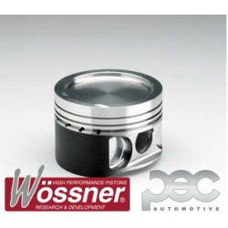 Wossner Forged Piston Kit - Mitsubishi Lancer Evo 4-7 2.0 16v Turbo (8.0:1 C/R)
