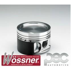 Wossner Forged Piston Kit - Mitsubishi Lancer Evo 4-7 2.0 16v Turbo (8.0:1 C/R)