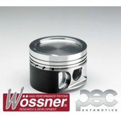 Wossner Forged Piston Kit - Toyota Celica / MR2 1.6 16v 4AGE High Comp (20mm Pin)